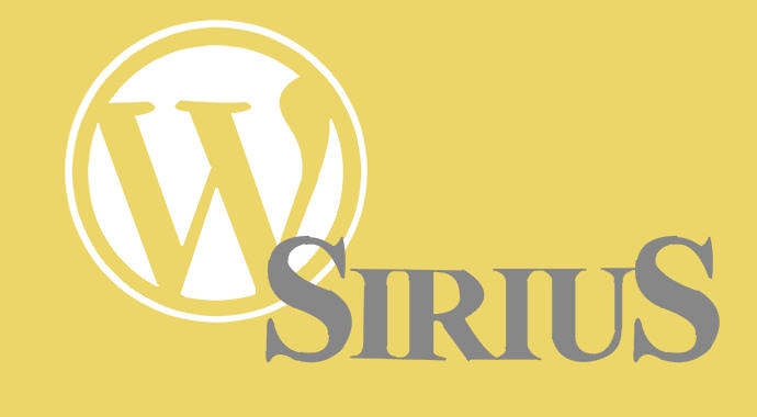sirius wordpress