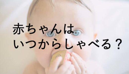 赤ちゃんはいつから言葉を話す?赤ちゃんや幼児とのコミュニケーション